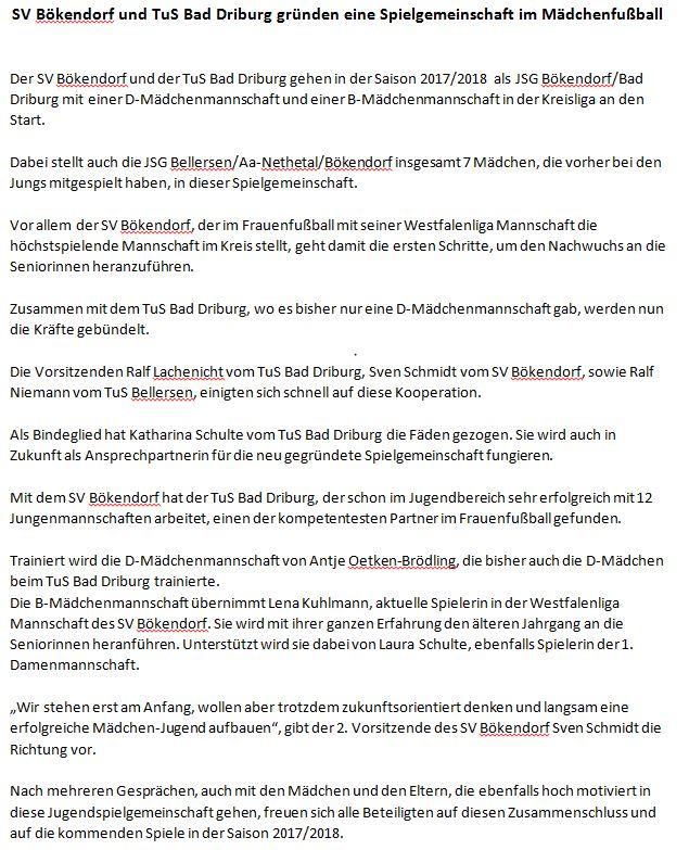 ZeitungsberichtMädchen